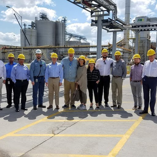 Caye International Bank team visit at Southwest Iowa Renewable Energy (SIRE) plant