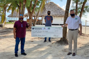Joel Nagel raises money in Belize for annual toy drive 2020